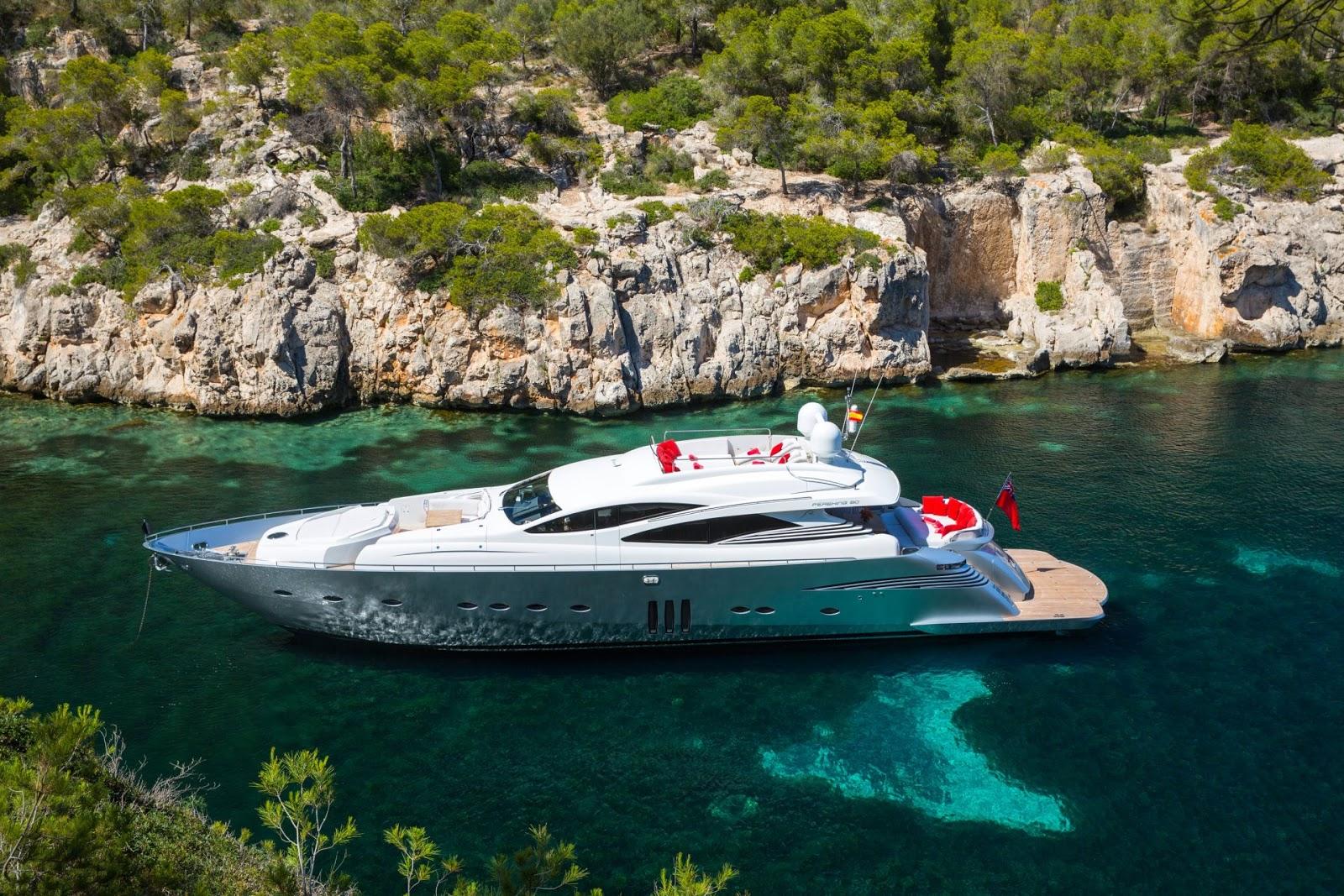 Alquiler de yates de lujo en Ibiza