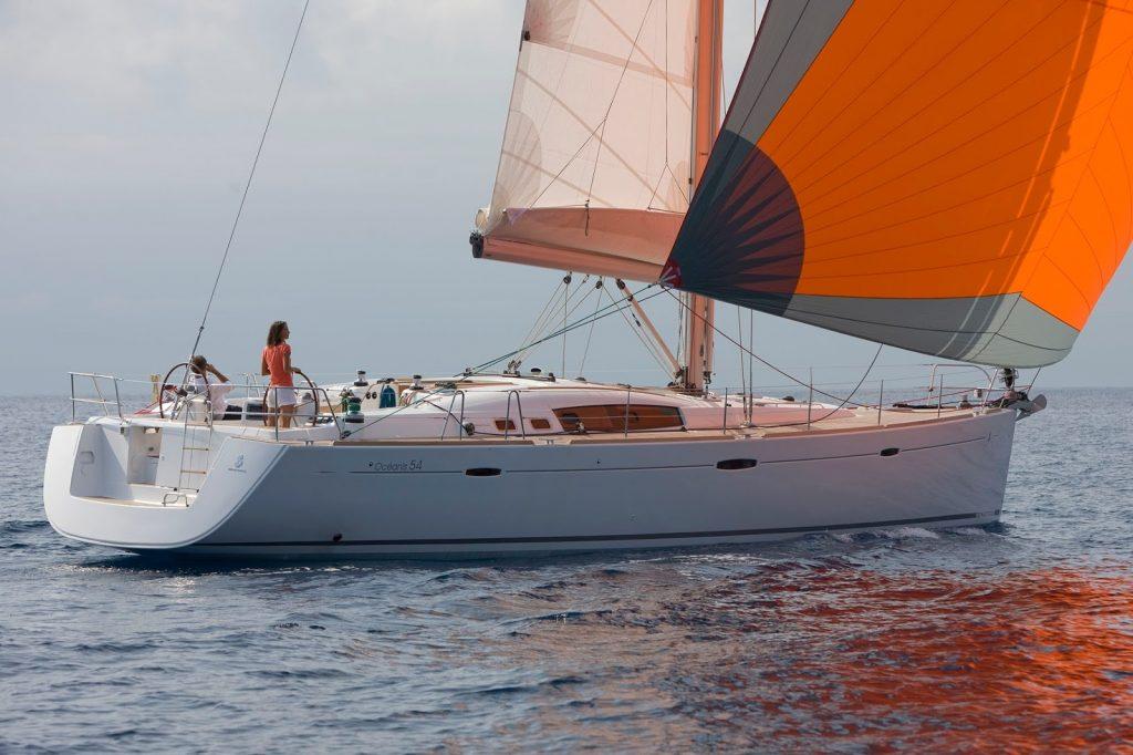 OCEANIS 54 - ALQUILER VELEROS IBIZA