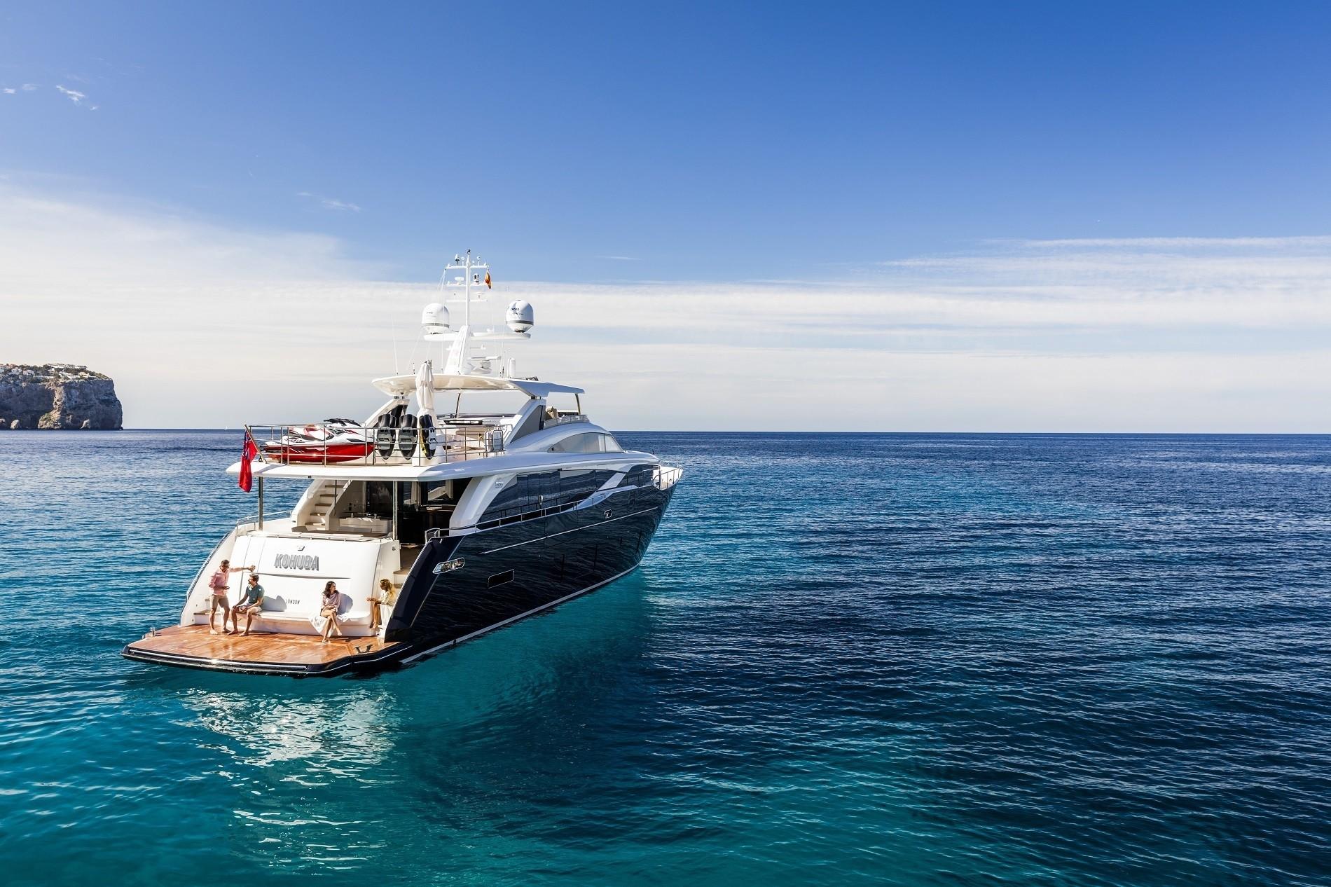 Alquiler de barcos y yates de lujo en Ibiza. Barcos baratos de alquiler en Ibiza.