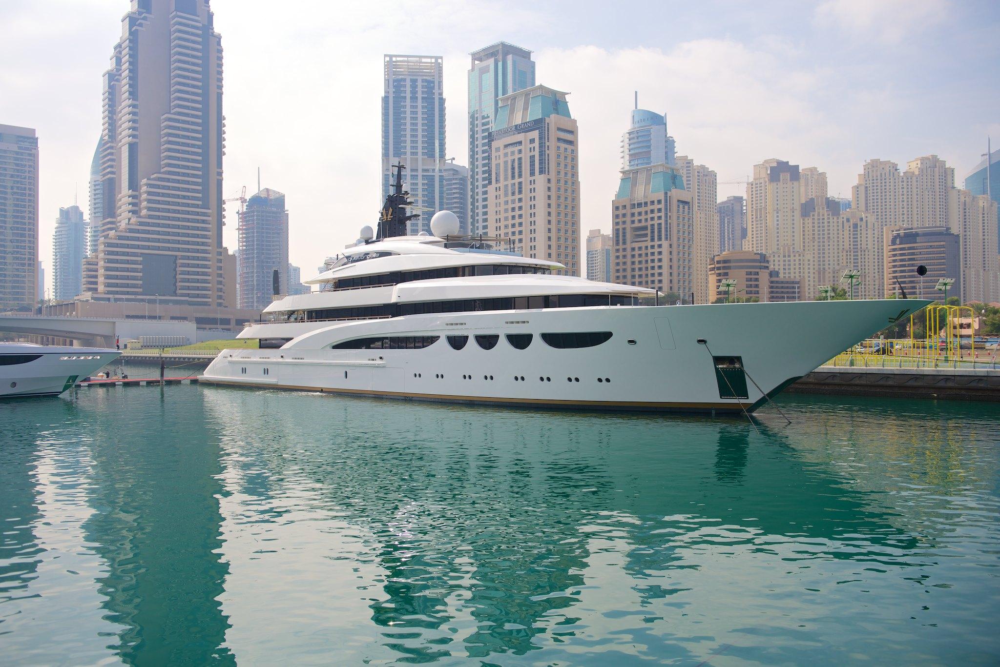 Alquiler de yates en Dubai. Yates baratos de alquiler en Dubai