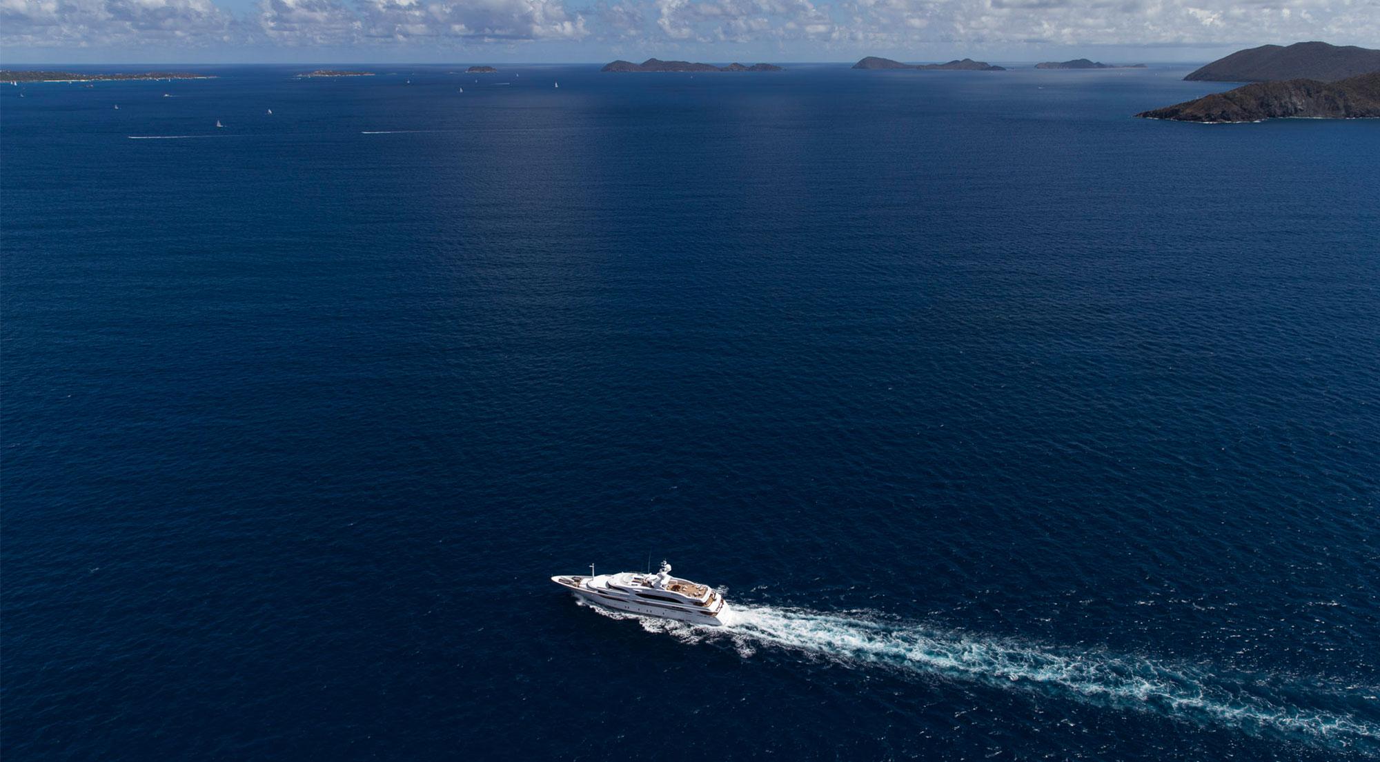 Alquiler de yates en el Mar Mediterráneo.