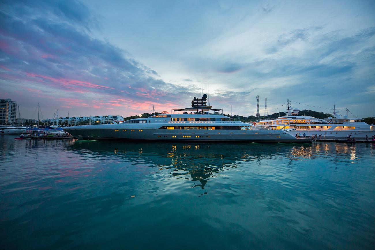 Singapore Yacht Show de barcos y yates de lujo