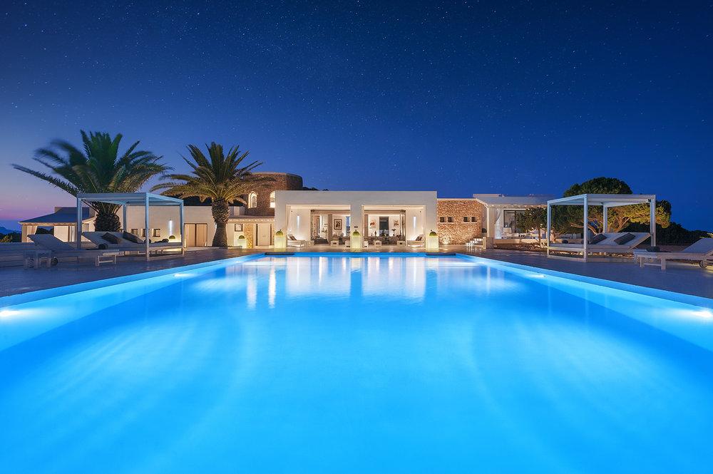 Alquiler de yates en Ibiza (Tagomago)