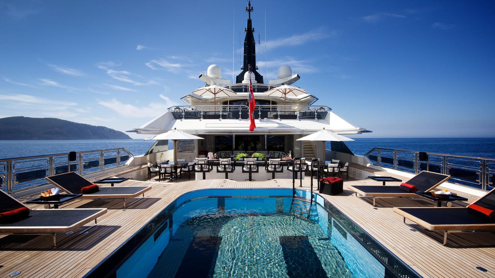 Alquiler de barcos y yates de lujo Oceanco en Ibiza