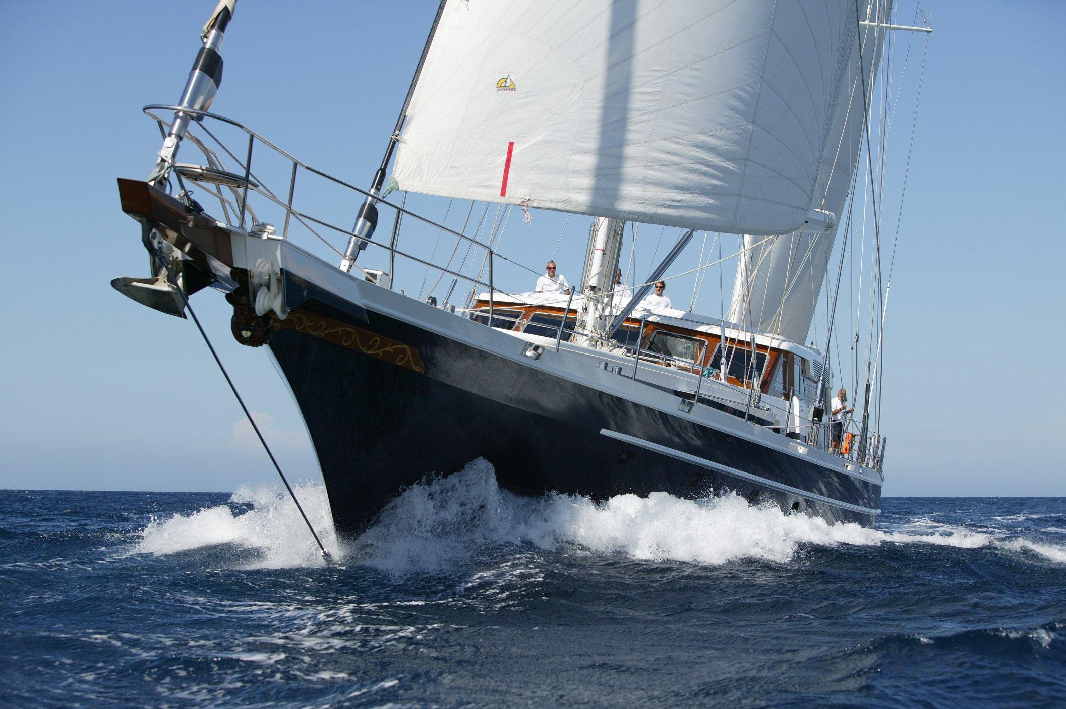 Jongert Yachts en Ibiza