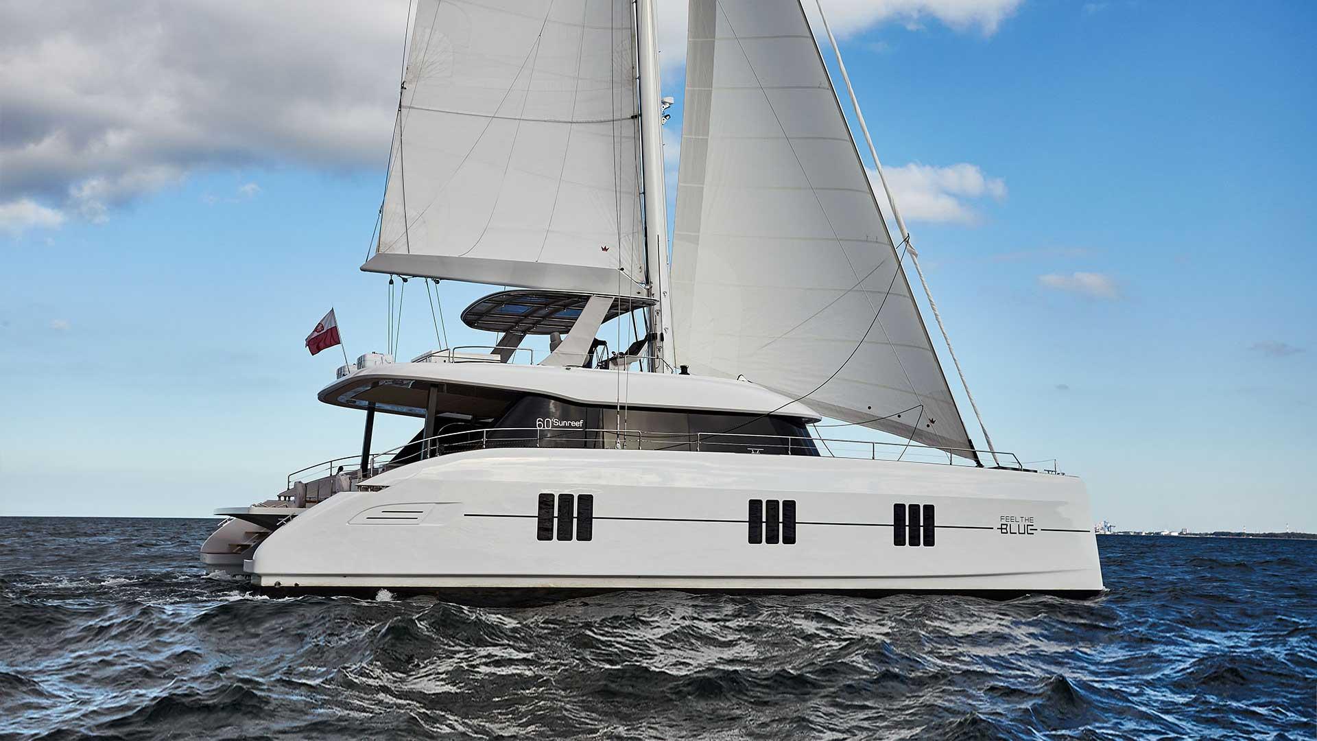 Alquiler de catamaranes de lujo
