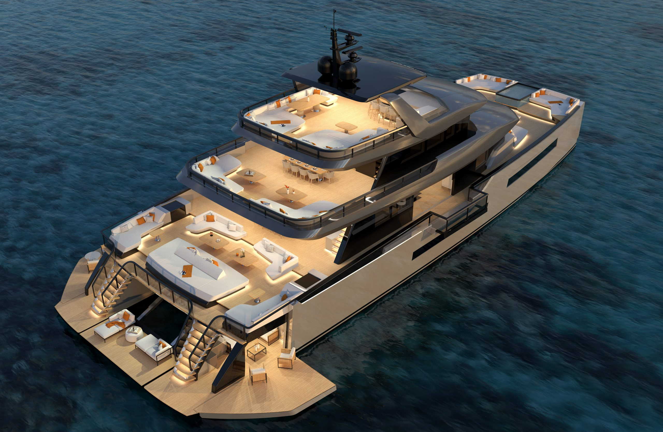 Alquiler barcos lujo - Image licensed to Lloyd Images Pictures of the super yacht Forever One Credit: Lloyd Images